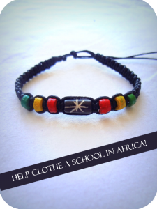 World Clothes Line Bracelet